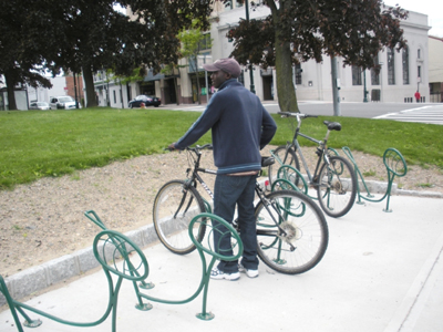 New Rochelle Bike Rack